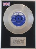 "PRETTY THINGS   7"" Platinum Disc  DON'T BRING ME DOWN"
